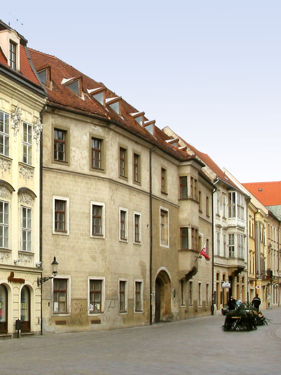 Academia Istropolitana - the first university (1465) on the territory of Slovakia