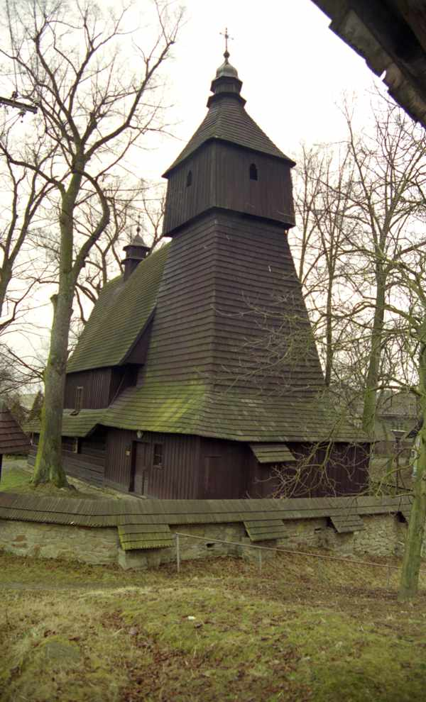 The oldest wooden church in Slovakia - Hervartov
